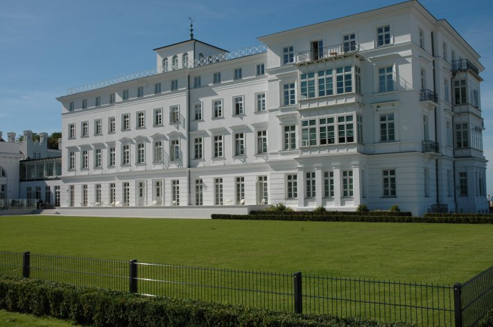 Panoramablick Grand Hotel Heiligendamm.