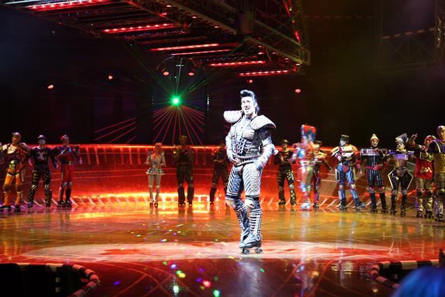 Starlight Express in Bochum - the show must go on mit Elvis
